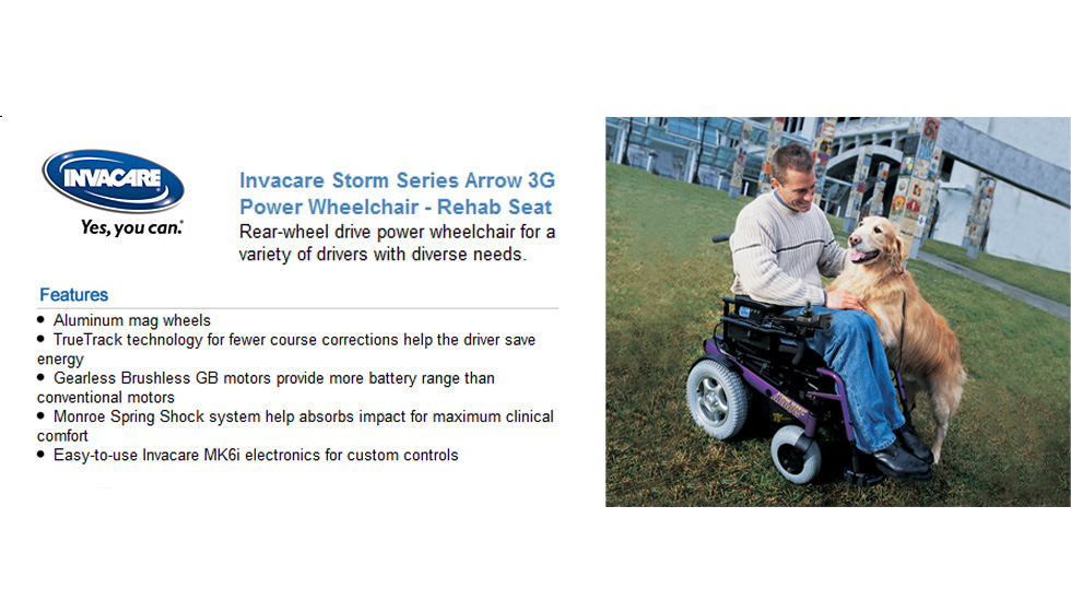 Invacare Storm Series Chairs